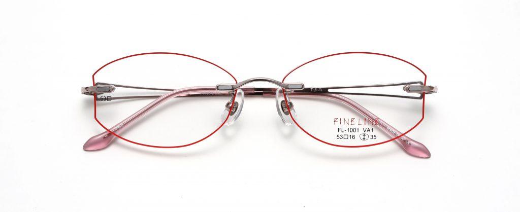フレーム+レンズ 25,920円(税込) ※フチカラー加工 +3,240円(税込)