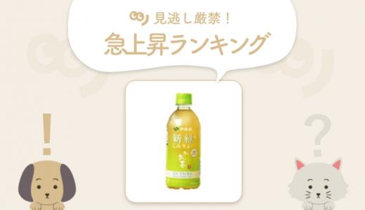 高評価、クチコミ多数!「お~いお茶 新緑」が新登場【5/17~5/24 急上昇ランキング】