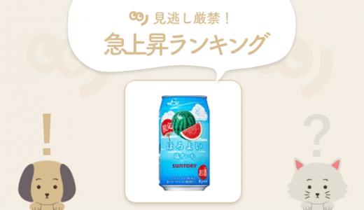【夏季限定】人気のお酒「ほろよい〈塩すいか〉」が新登場!【7/20~7/26 人気急上昇ランキング】