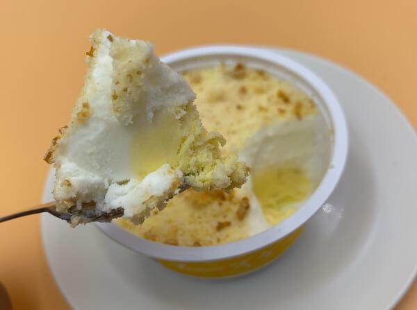 セイカ食品「ふわふわスポンジ入りチーズケーキ」