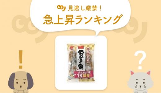 お茶請けピッタリな「おかき餅」がランクイン!【3/8~3/13 人気急上昇ランキング】