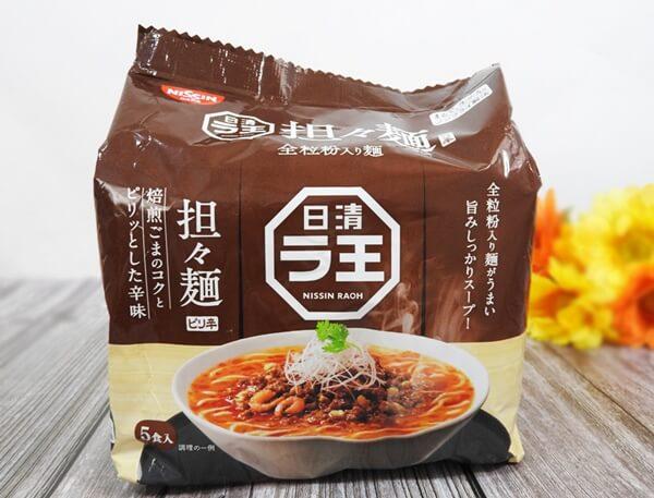 日清 ラ王 担々麺 価格:368円(税抜)