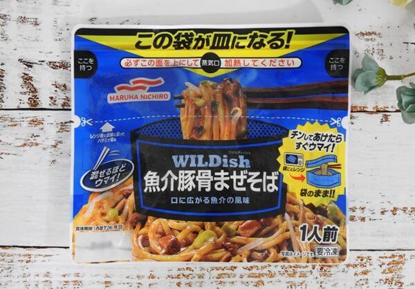 マルハニチロ WILDish 魚介豚骨まぜそば 218円(税抜)