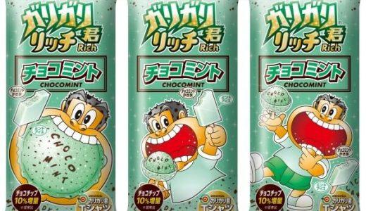 ガリガリ君リッチチョコミント、3年連続で発売決定 チョコチップ10%アップ!