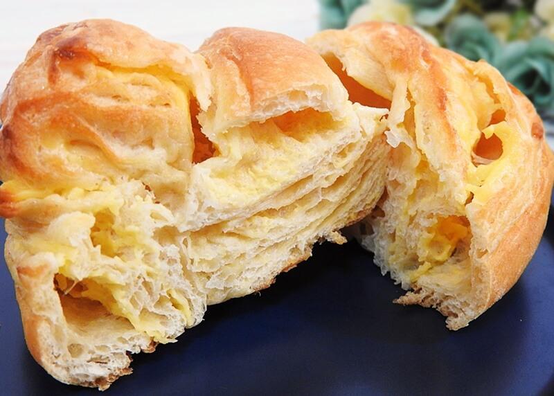 大麦のチーズデニッシュ(ローソン) 価格:130円(税込)