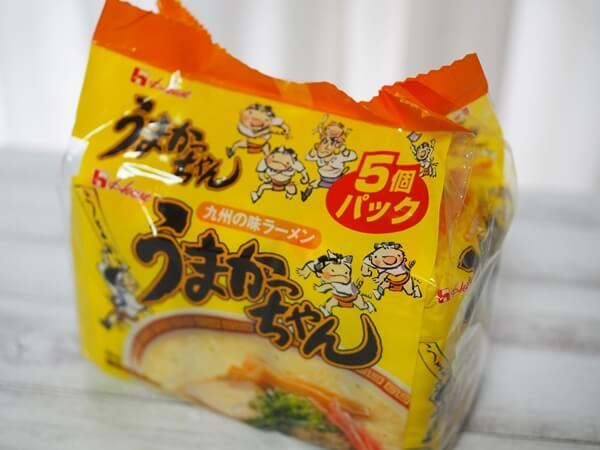 うまかっちゃん5袋入り 希望小売価格:555円(税別)