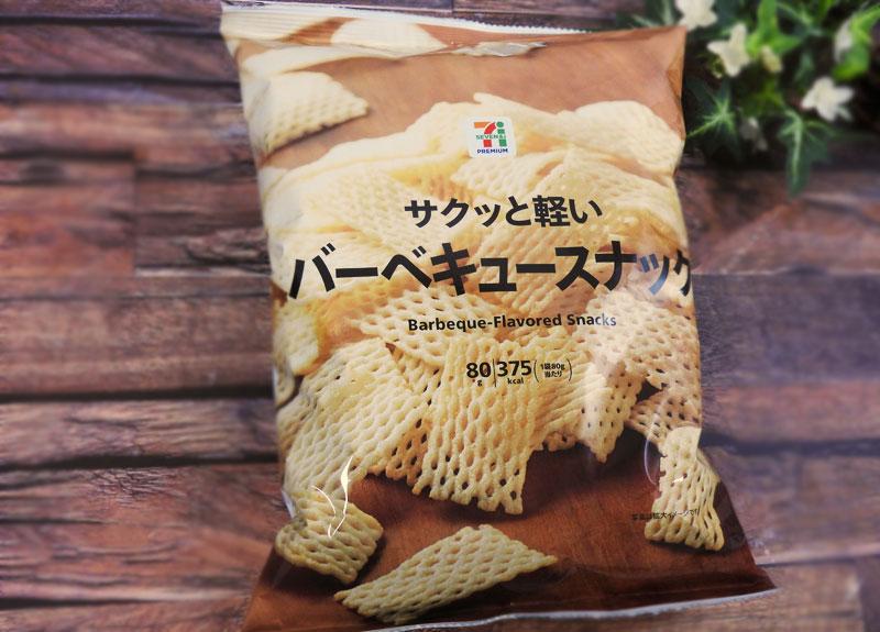 サクッと軽いバーベキュースナック(セブンイレブン)価格:100円(税抜)