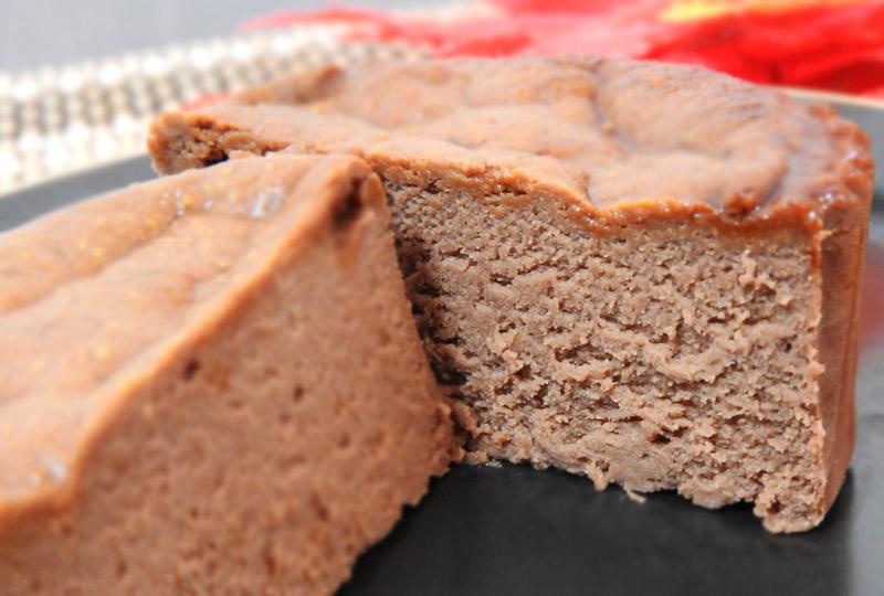 ローソン「バスチー バスク風ショコラチーズケーキ」 価格:225円(税込)