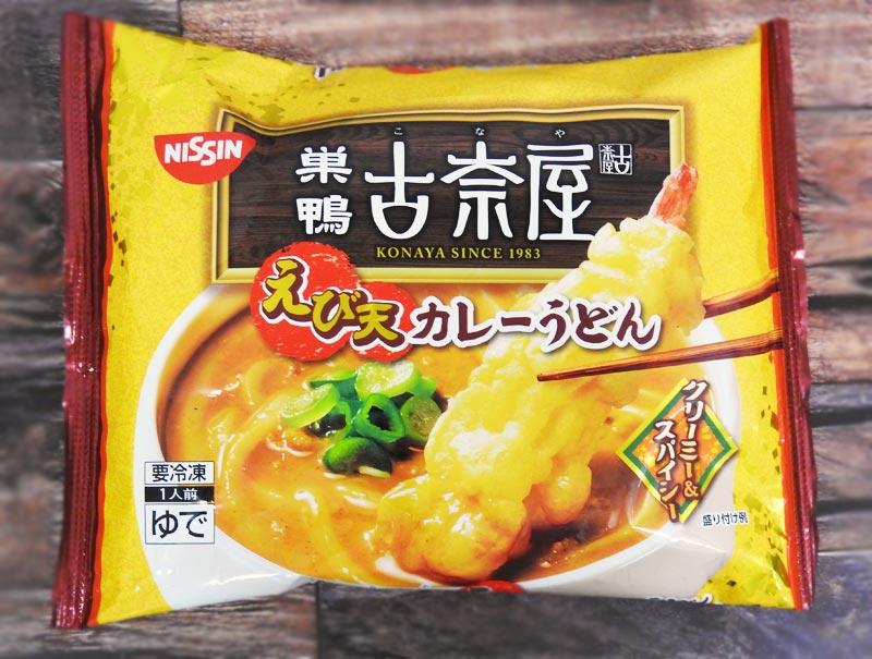 古奈屋 えび天カレーうどん(日清) 参考価格:378円