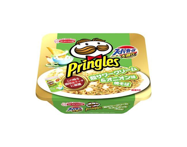 「プリングルズ 超サワークリーム&オニオン味焼そば」