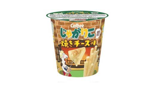 こんがり焼いたチーズの風味「じゃがりこ 焼きチーズ味」新発売!