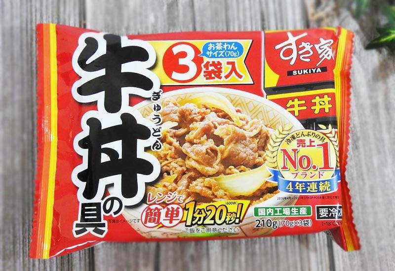すき家「牛丼の具」 参考価格:640円