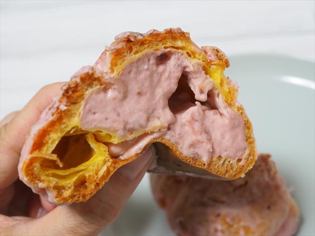 ファミリーマート いちごクッキーシュー 価格:168円(税込)