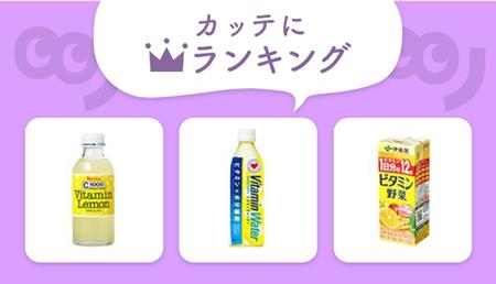 風邪予防、疲労回復に必須!人気のビタミン入り商品をチェック!【編集部セレクト!カッテにランキング】