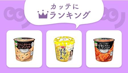 冬に飲みたいカップスープ、「クノール」or「エースコック」どっち派?【編集部セレクト!カッテにランキング】