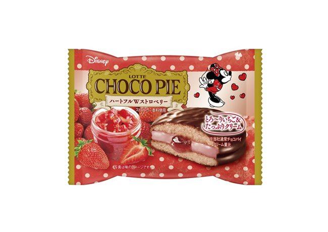 チョコパイ〈ハートフルWストロベリー〉