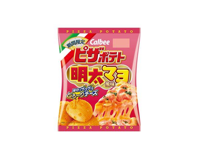 ピザポテト 明太マヨ風味