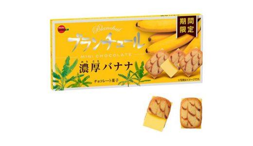 【期間限定】「ブランチュールミニチョコレート〈濃厚バナナ〉」新発売