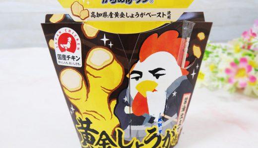 """【コンビニ新商品・実食レポ】""""しょうが""""が食欲をかきたてる! ローソン「からあげクン 黄金しょうが味」"""