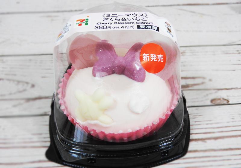 ミニーマウスさくら&いちご(セブンイレブン) 価格:419円(税込)
