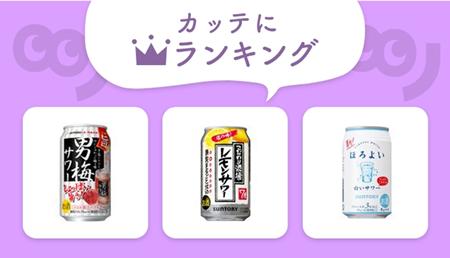 低アルコールからガッツリ系まで!人気の「サワー」は?【編集部セレクト!カッテにランキング】