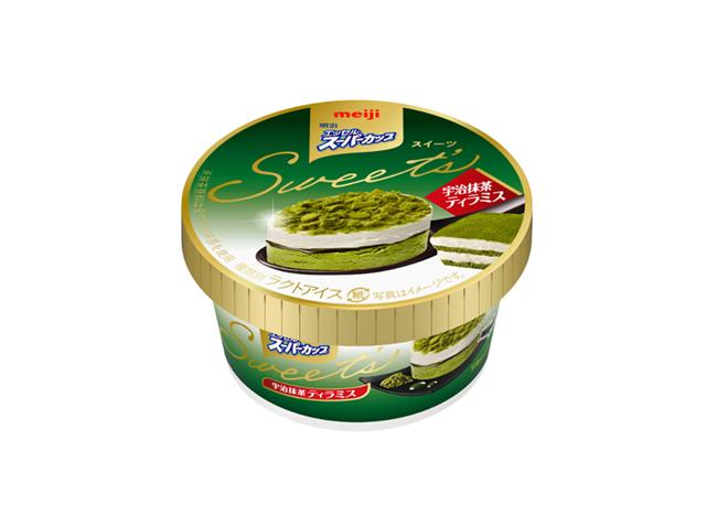 明治 エッセルスーパーカップ Sweet's 宇治抹茶ティラミス