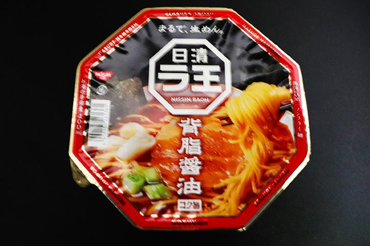 日清食品 ラ王 背脂醤油 価格:230円(税抜)