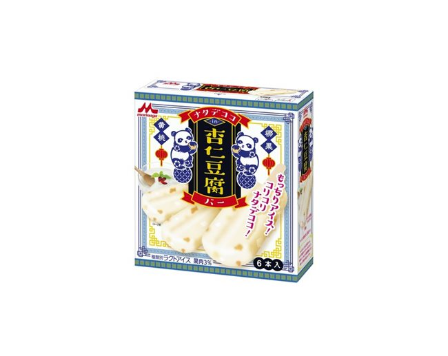 ナタデココin杏仁豆腐バー(6本入り)