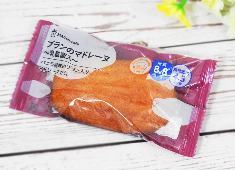 ブランのマドレーヌ 乳酸菌入(ローソン) 価格:160円(税込)