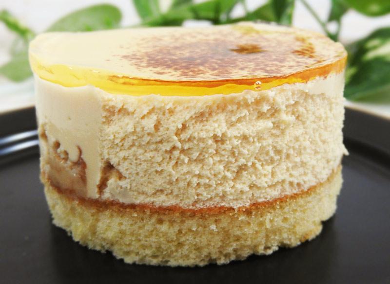 麗らかキャラメルチーズケーキ(ローソン) 価格:295円(税込)