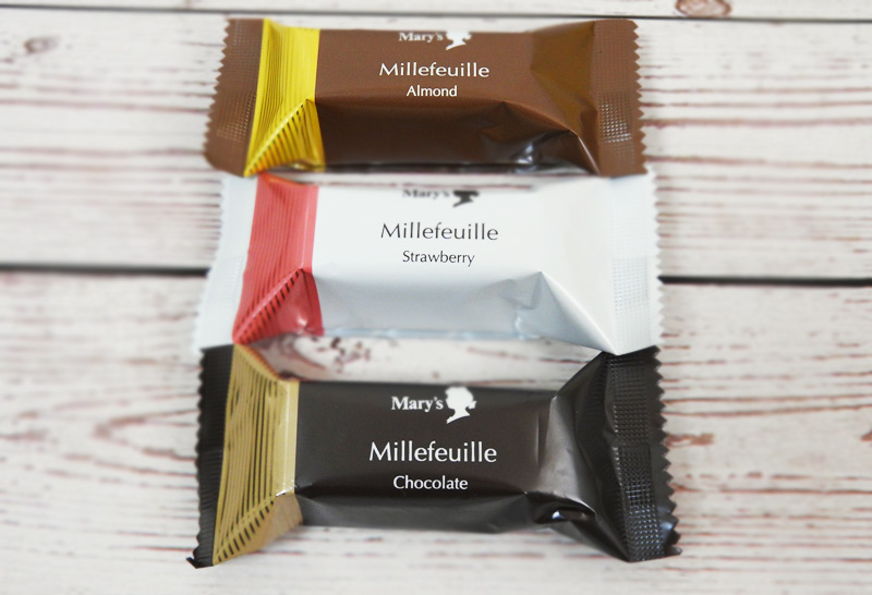 メリーチョコレート「ミルフィーユ 10個入」 価格:1080円