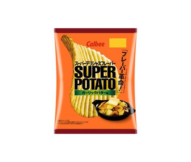 スーパーポテトガーリックバター味