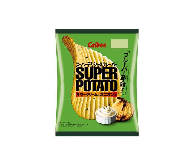スーパーポテト サワークリーム&オニオン味