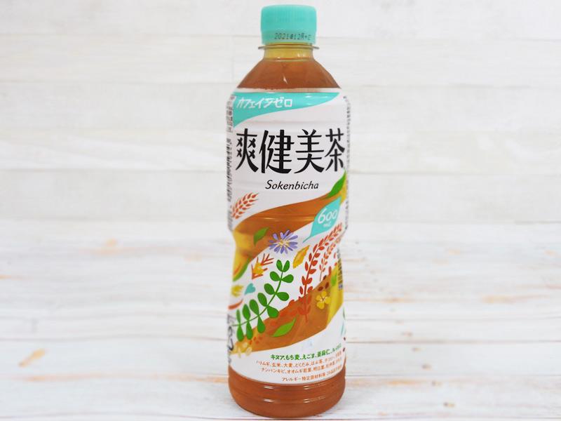 爽健美茶カフェインゼロ(日本コカ・コーラ) 参考価格:151円(税込)