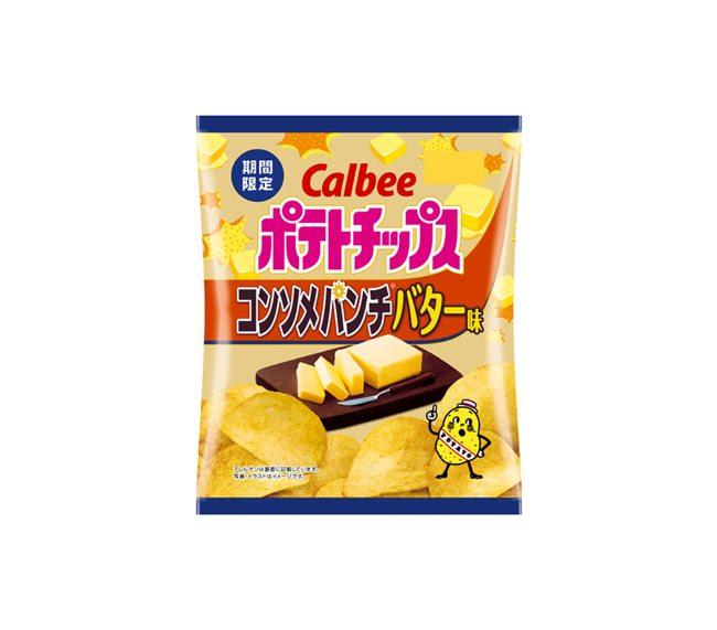 ポテトチップス コンソメパンチバター味