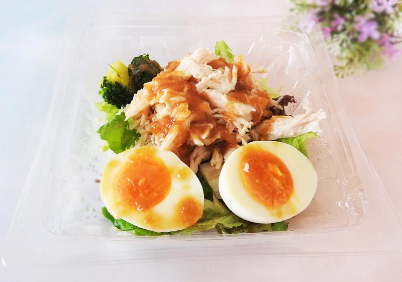 たんぱく質が摂れる 鶏むね肉のサラダ(セブンイレブン) 価格:430円(税込)