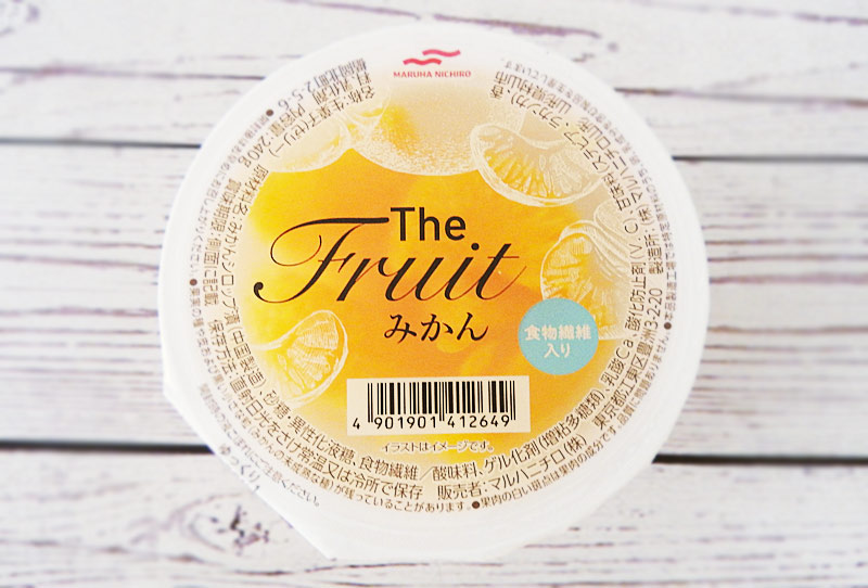 The Fruit みかん(マルハニチロ) 参考価格:240円(税込)