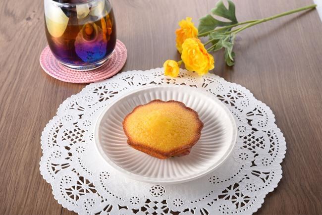瀬戸内レモンのしっとりマドレーヌ
