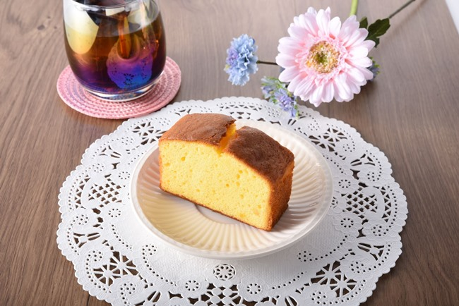 瀬戸内レモンのふんわりケーキ