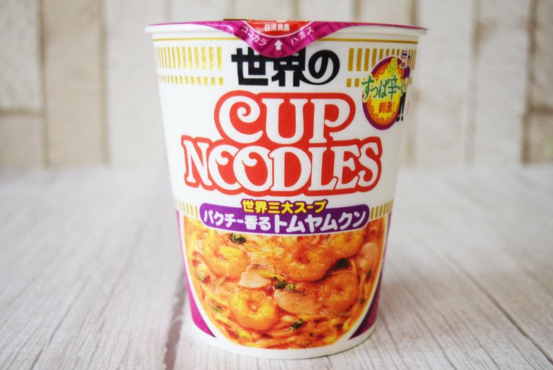 日清「カップヌードル パクチー香るトムヤムクン」 オープン価格