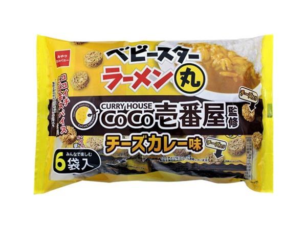 ベビースターラーメン丸(CoCo壱番屋監修 チーズカレー味)6袋入