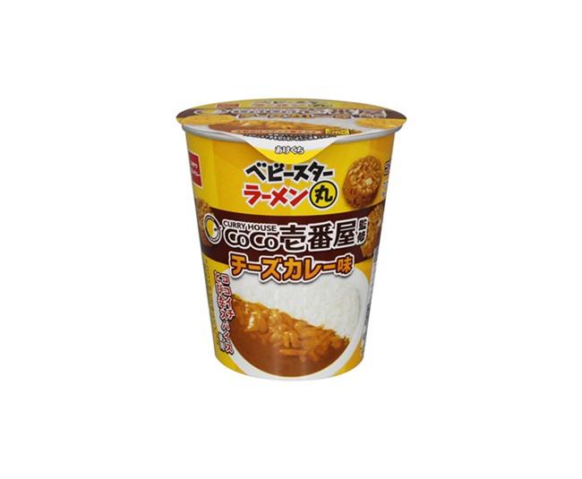 ベビースターラーメン丸(CoCo壱番屋監修 チーズカレー味)