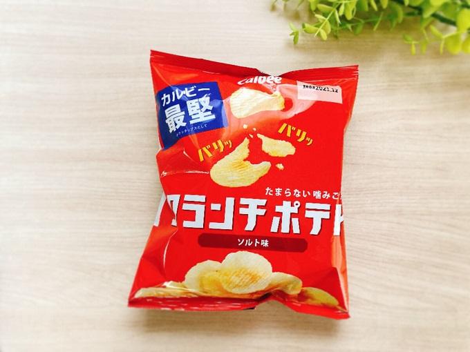 カルビー クランチポテトソルト味 価格:137円(税込)
