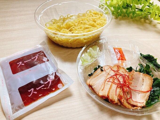 冷しチャーシュー麺(ラー油付)(ファミリーマート) 価格:598円(税込)
