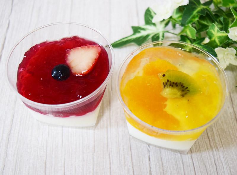 「フルーツミルクプリン(2個入り)」(ローソン) 価格:550円(税込)