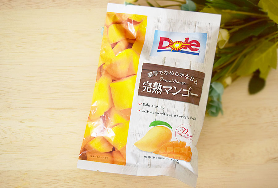 Dole「完熟マンゴー」(ファミリーマート) 価格:200円(税込)