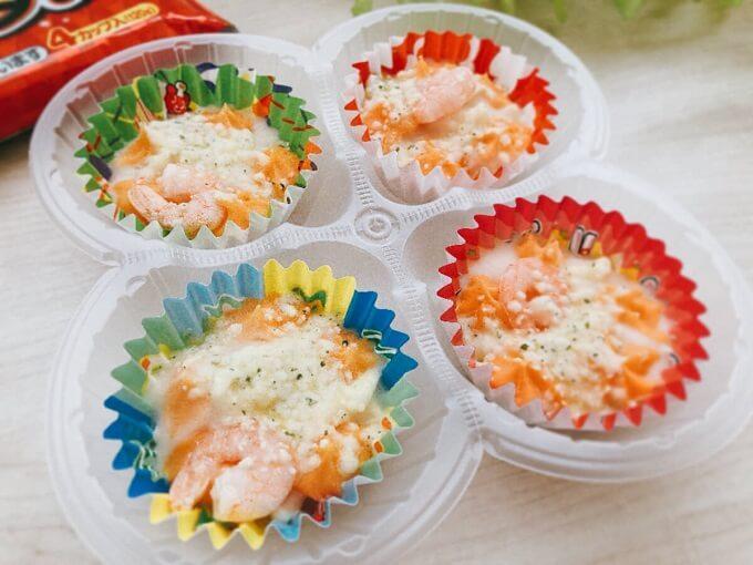 えびとチーズのグラタン 4カップ入 価格:181円(税込)