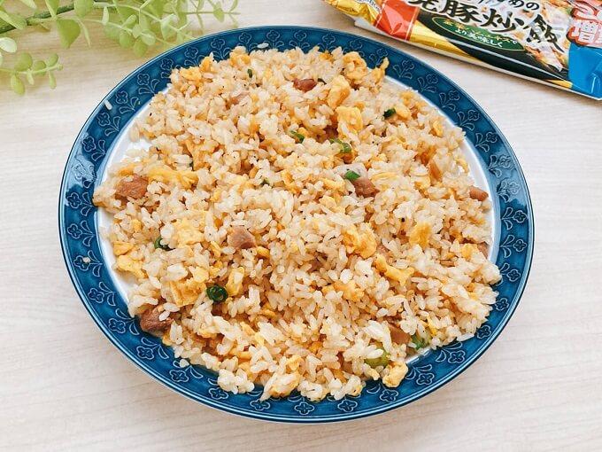 あおり炒めの焼豚炒飯 価格:268円(税込)