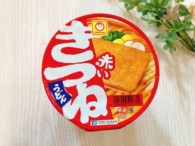 マルちゃん 赤いきつねうどん 価格:238円(税込)